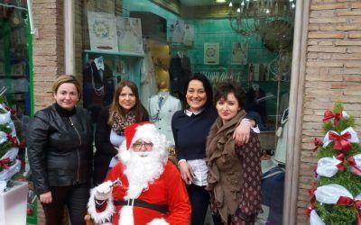 El día 23 de diciembre Papá Noel ha estado en Zapatando